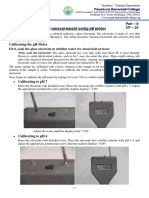 CP - 25 pH Measurement Using pH Meter