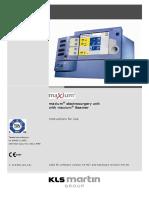 Maxium User Manual