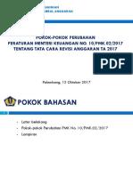 2017 Pokok-pokok Perubahan PMK 10