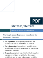 03 Revisions l Regression