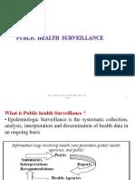 6. Pubic Health Survilance