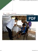 Chagas_ Diagnóstico y Tratamiento, Una Realidad en Oaxaca