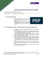 Regulamin Hbo Playnow