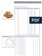 1060A Bronze Swing Type Check Valve (1)
