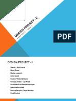 Presentation on Design project