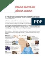 La Semana Santa en America Latina