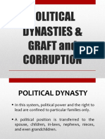 Political Dynaties and Graft and Corruption
