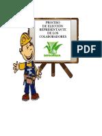 Proceso de Elección Representante de Los Colaboradores.