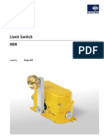 ASIflex No 07d2 Kiepe Limit Switch HER