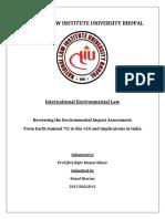 Intl Environmental Law