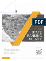 India State Ranking Survey – 2017