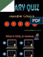 Binary Quiz