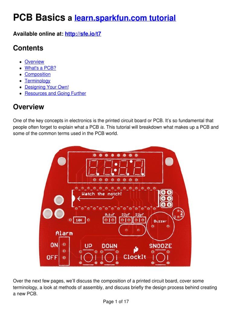 Pcb Printed Circuit Board Solder Tutorial On Design