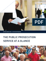 The Public Prosecution Service at a Glance