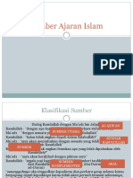3. Sumber Ajaran Islam