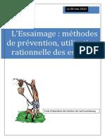 L'Essaimage Méthodes de Prévention, Utilisation Rationnelle Des Essaims.