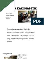 Senam Kaki Diabetes Millitus