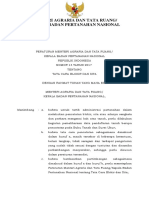 Peraturan Menteri ATR Nomor 13 Tahun 2017