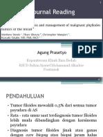 Journal Reading - Malignant Phyllodes Tumor
