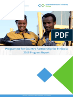 PCP Ethiopia 2016 Progress Report