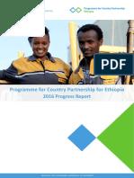 PCP Ethiopia 2016 Progress Report