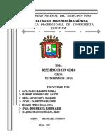 Informe de Exposicion