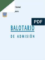 Balotario Final