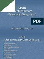 4.CPOB Ketentuan Umum Dan Personalia