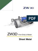 ZW3D_FromEntryToMaster_SheetMetal