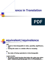 EquivalenceinTranslation.ppt