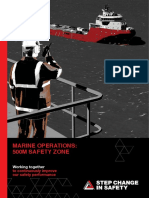Marine Operations 500 m Zone Guidance