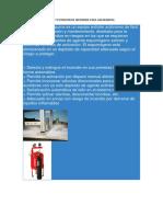 Sistemas de Deteccion y Extincion de Incendios Para Gasolineras