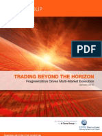 White Paper Fall 2009 Trading Beyond the Horizon