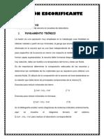 informe fusion escorificante