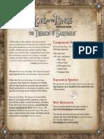 Mec45 the Treason of Saruman Rulesheet