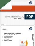 Presentación de Dist. Binomial y de Bernoulli (Presentación Para El Estudiante 2017)