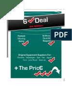 Filtron 6 Tick Deal Factor 1008