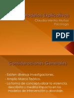Modelos Explicativos VIF