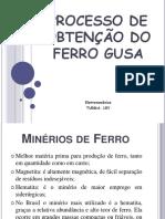 PROCESSOS DE OBTENÇÃO DO FERRO GUSA.pdf