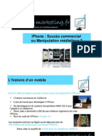 Cas Marketing Dossier iPhone