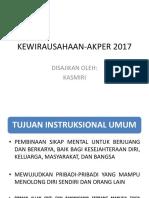 KEWIRAUSAHAAN-AKPER 2017