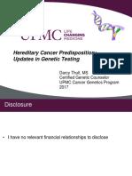 Hereditary Cancer Predisposition