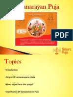 History Satyanarayan Puja