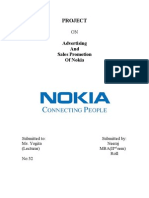 PROJECT on Nokia