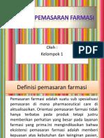 1. Konsep Pemasaran Farmasi