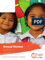 Hope for Children Annual Review 2016-17