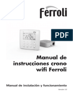 Manual Instrucciones Nuevo Crono Wifi Ferroli 26112014