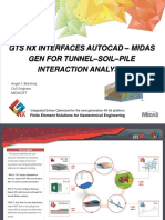 GTS NX Interfaces AutoCAD – MIDAS GEN for Tunnel–Soil–Pile Interaction Analysis 1497563781