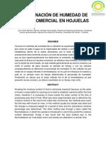 Analiside Alimentos Determinacion de Hum