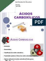Aula Acidos Carboxilicos Quimica 2p Uema
